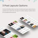 post layouts options