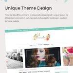 unique theme design