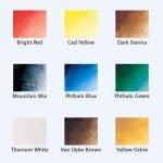 br preparing color palette